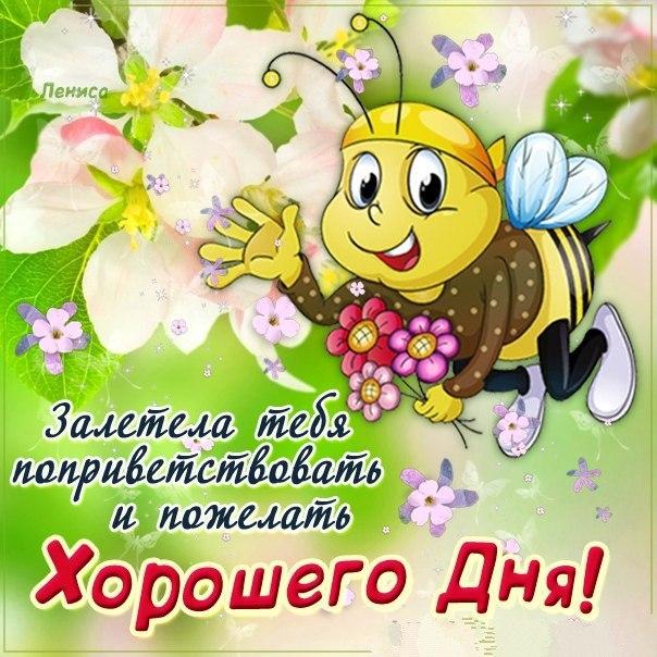 Хороший день открытка поздравление